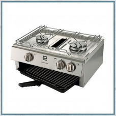 (Ref 478) TASMAN 4500 HOB AND GRILL WITHOUT SPARK IGNITION NO SPLASH PLATE Caravan Motorhome Van Conversion