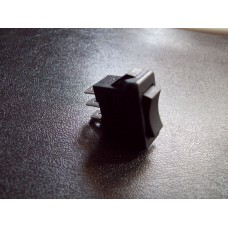 switches (Ref 781) Swan Black Rocker Switch Single Pole SPDT Centre off 12a 125w A/C 6a 250w A/C 3 tag