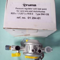 Regs (Ref 88) 01294-67 Truma GOK regulators 10mm Gas Pressure Regulator Complete with Test Point  Caravan Motorhome