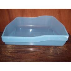 (Ref 35D) 241 20 78-10/3 Dometic Fridge  eTAGeRE  salad vegetable box Bin base light blue  FOR RM7 & 6 SERIES CARAVAN MOTORHOME  2412078103