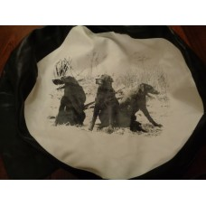 (Ref 316) 4x4 Rear Wheel cover Labrador Gun dog  picture